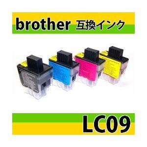 「単品」ブラザー(brother) LC09互換インク LC09BK・LC09C・LC09M・LC09Y|photolife