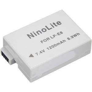 キャノン(Canon) LP-E8互換バッテリー EOS Kiss X4/X5/X6i/X7i対応 photolife