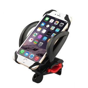 定形外 【B096】自転車用 スマホホルダー モバイルホルダー<全2色> / ロードバイク マウンテンバイク 等のハンドルバーへ簡単取り付け!GPS機器もマウント|photolife