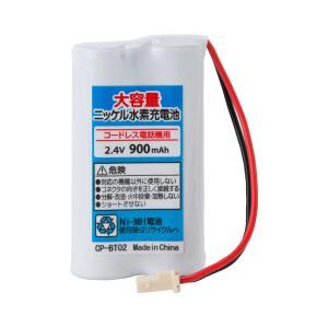 定形外 (CP-BT0213)サンヨー NTL-14/TEL-L51/TEL-HF80/パナソニック 等 コードレス電話子機用互換充電池|photolife