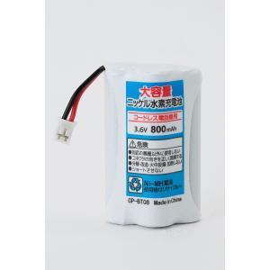 定形外 (CP-BT0811)パナソニック KX-FAN50 KX-FKN100 KX-FKN510 VE-GP50DL VE-GP50DW 等 コードレス電話子機用互換充電池