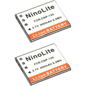 定形外 カシオ(CASIO) NP-120互換バッテリー 2個セット EX-Z780/EX-Z770...