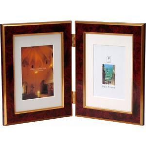 2Lサイズの写真を2枚飾ることができます 附属のマット台紙を使えばL判サイズを飾ることもできます  ...
