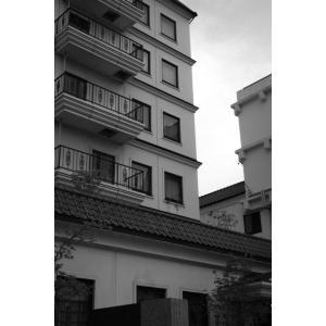 松本のビルポストカード|photoroom-g