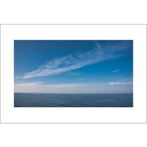 青い空と海ポストカード|photoroom-g