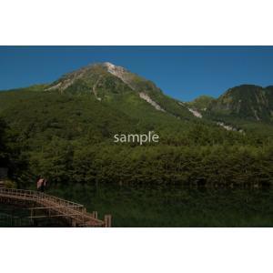山々(上高地)、焼岳ポストカード|photoroom-g