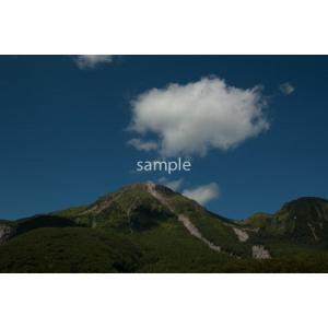 焼岳と大正池(上高地)ポストカード|photoroom-g