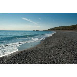 海岸・砂浜・青空ポストカード|photoroom-g