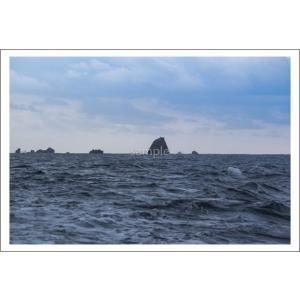 小笠原父島付近の岩礁ポストカード|photoroom-g