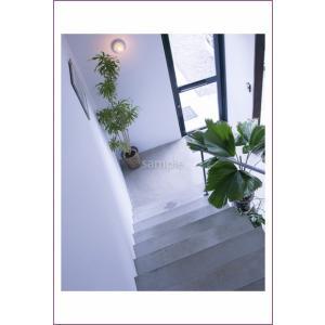 小笠原白い壁階段のポストカード|photoroom-g