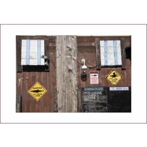 あ小笠原るショップ外観のポストカード|photoroom-g