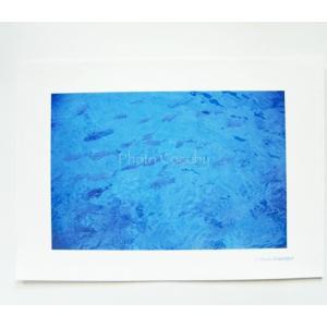 A4クリアファイル/蒼い海|photoroom-g