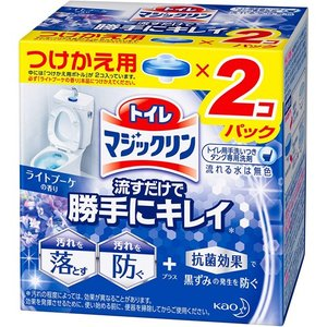 花王 トイレマジックリン 流すだけで勝手にキレイ トイレ用洗剤 ライトブーケ つけかえ用 2個 49...