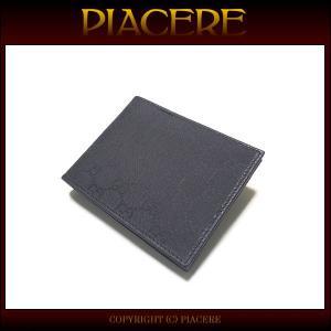 グッチ 二つ折り財布 GUCCI 278596 G1X90 1001 メンズ 送料無料 新品 セール|piacere-jp