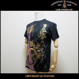 クリスチャンオードジェー Christian Audigier C1134S8 Tシャツ|piacere-jp