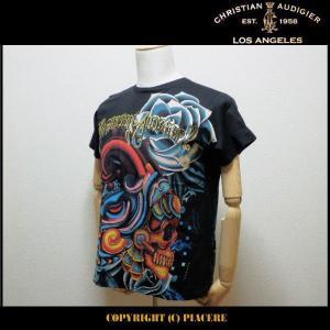 クリスチャンオードジェー Christian Audigier C1DBBDSM Tシャツ|piacere-jp