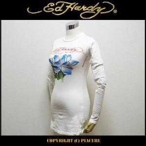 エドハーディー Ed Hardy CR22211 ロングTシャツ|piacere-jp