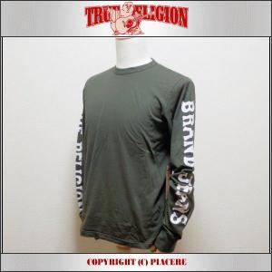 トゥルーレリジョン ロングTシャツ TRUE RELIGION MS48L14JN09 AM|piacere-jp