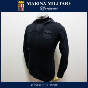 マリーナミリターレ MARINA MILITARE MWT124 ヘンリーネックシャツ|piacere-jp