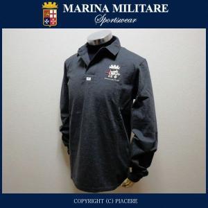 マリーナミリターレ MARINA MILITARE MYT414 長袖ポロシャツ|piacere-jp