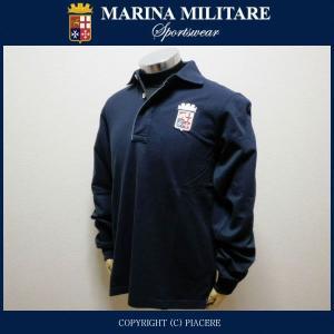 マリーナミリターレ MARINA MILITARE MYT417 長袖ポロシャツ|piacere-jp