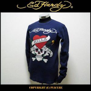 エドハーディー Ed Hardy R0DEBQLK ロングTシャツ|piacere-jp