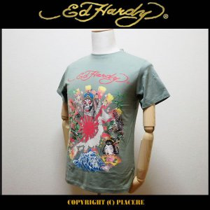 エドハーディー Ed Hardy R1CBAUCS Tシャツ|piacere-jp