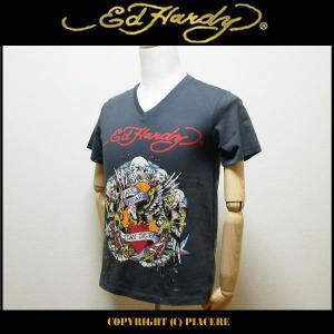 エドハーディー Ed Hardy R1DSBX7S Tシャツ|piacere-jp