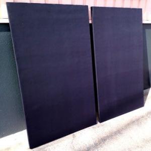 吸音材 防音パネル 防音ボード 防音 吸音 遮音 ピアノ吸音ボード アップライトピアノ ピアリビング 幅800mm×縦1500mm×厚さ25mm 2枚組|pialiving