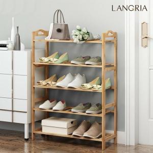 LANGRIA シューズラック 靴箱 靴収納 収納ボックス 玄関収納 下駄箱 組み立て式 収納ボックス シューズボックス 玄関収納 10格2列式 大容量 小物収納 衣類収納