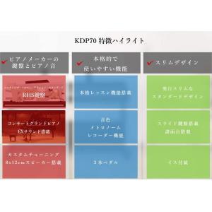 電子ピアノ カワイ デジタルピアノ KDP70|WEB限定商品(お届けのみ、お客様組立)|pianoplaza|04