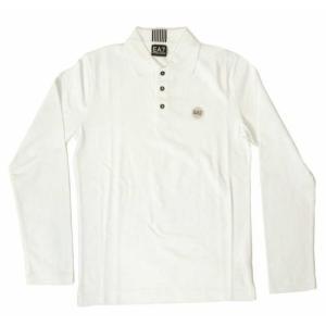 アルマーニ ポロシャツ ゴルフ メンズ ホワイト Sサイズ エンポリオアルマーニ EA7|piazza