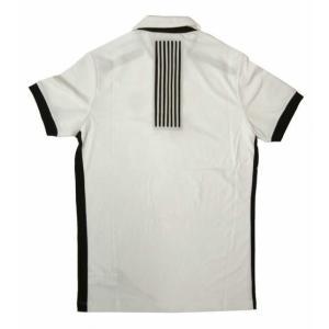 アルマーニ ポロシャツ (ホワイト) Lサイズ 速乾素材 ゴルフ用 EA7 piazza 02