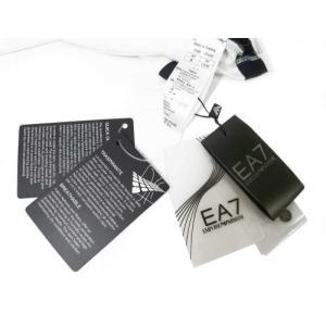アルマーニ ポロシャツ (ホワイト) Lサイズ 速乾素材 ゴルフ用 EA7 piazza 05