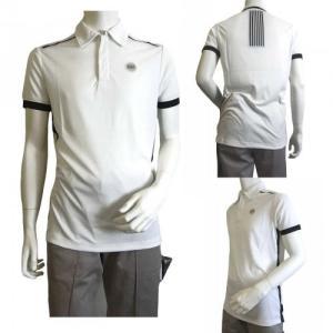 アルマーニ ポロシャツ (ホワイト) Lサイズ 速乾素材 ゴルフ用 EA7 piazza 06