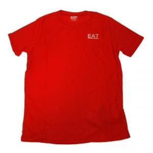 アルマーニ Tシャツ メンズ レッド エンポリオアルマーニ EA7|piazza