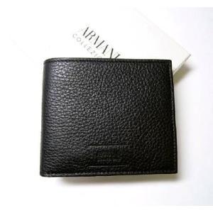 アルマーニ 財布 メンズ コレツォーニ 二つ折  *箱傷あり|piazza