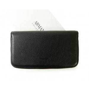 アルマーニ 財布 メンズ コレツォーニ 長財布 メンズ トラベルオーガナイザー *大きめサイズ|piazza