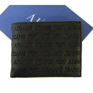 アルマーニ 財布 メンズ ジーンズ 二つ折|piazza