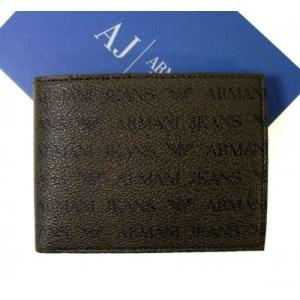 アルマーニ 財布 メンズ ジーンズ  二つ折り|piazza