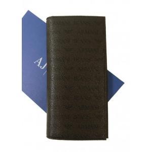 アルマーニ 財布 メンズ ジーンズ 長財布 二つ折|piazza