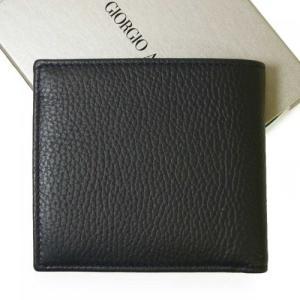 アルマーニ 財布 メンズ ジョルジオアルマーニ 二つ折|piazza|02