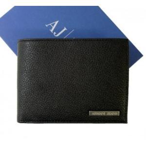 アルマーニ ジーンズ 財布 メンズ 三つ開き メッシュ ポケット 付き|piazza