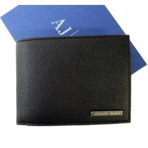 アルマーニ 財布 メンズ ジーンズ 三つ開き メッシュ ポケット 付き|piazza