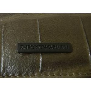 アルマーニ 財布 メンズ 長財布 エンポリオアルマーニ 二つ折 piazza 04