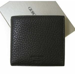 アルマーニ 財布 メンズ ジョルジオアルマーニ 二つ折|piazza
