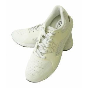 アルマーニ スニーカー メンズ シューズ 靴 ホワイト エンポリオアルマーニ EA7|piazza