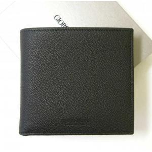 アルマーニ 財布 メンズ 本革 ジョルジオアルマーニ 二つ折|piazza