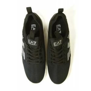 アルマーニ スニーカー メンズ ブラック トレーニング 軽量 EA7 エンポリオアルマーニ|piazza|04