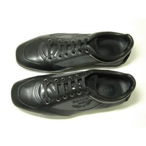 バリー スニーカー (ブラック) レザー ファブリック OLIVADO/00  8.5サイズ(日本サイズ約27.5cm)|piazza|02